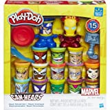 play doh super hero - Play-Doh Marvel Super Smash-Up with Can-Heads