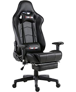 Umi Silla Gaming Escritorio Oficina con Reposapies Gamer ...