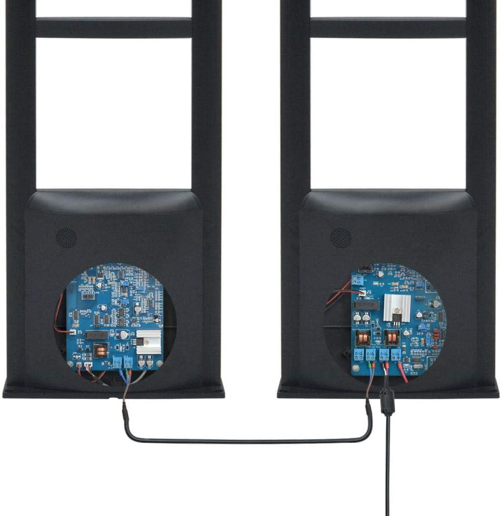 8,2 MHz Schwarz Festnight RF Antennensystem mit Sender//Empf/änger Anti-Diebstahl Warensicherungssystem 2 STK