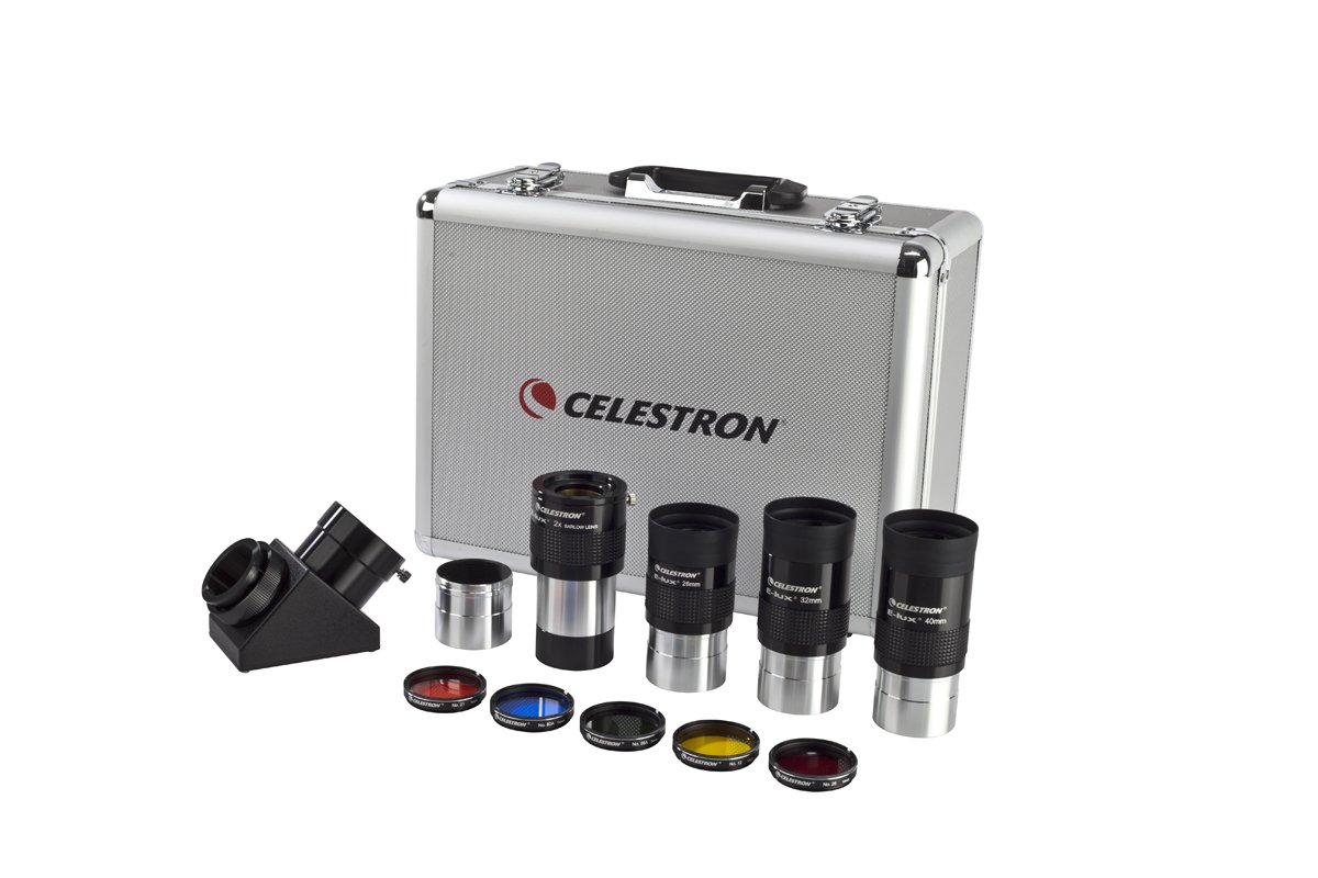 Celestron 94305 Two-inch Eyepiece and Filter Kit by Celestron