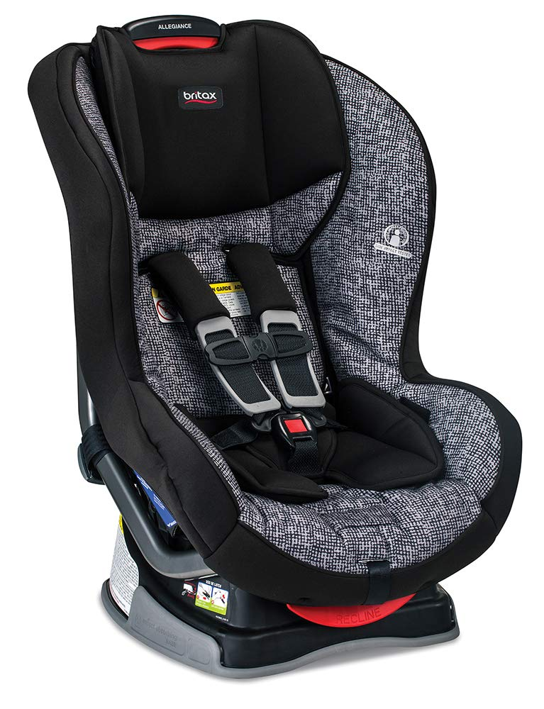 Britax Allegiance 3 Stage Convertible Car Seat – 5 to 65 Pounds – Rear Forward Facing – 1 Layer Impact Protection , Static