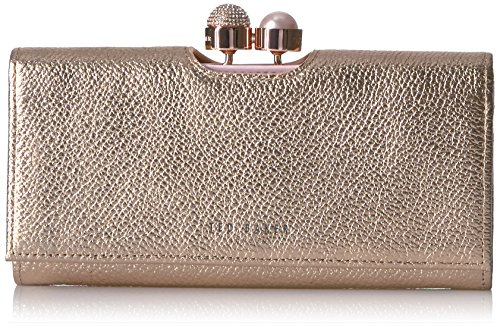 Ted Baker Marta Wallet,Crystal Pearl Bobble Matinee,rosegold,One Size by Ted Baker