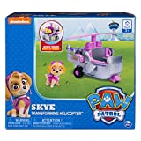 Paw Patrol Skye's Transforming Helicopter with Flip-open Turbines, for Ages 3 and Up