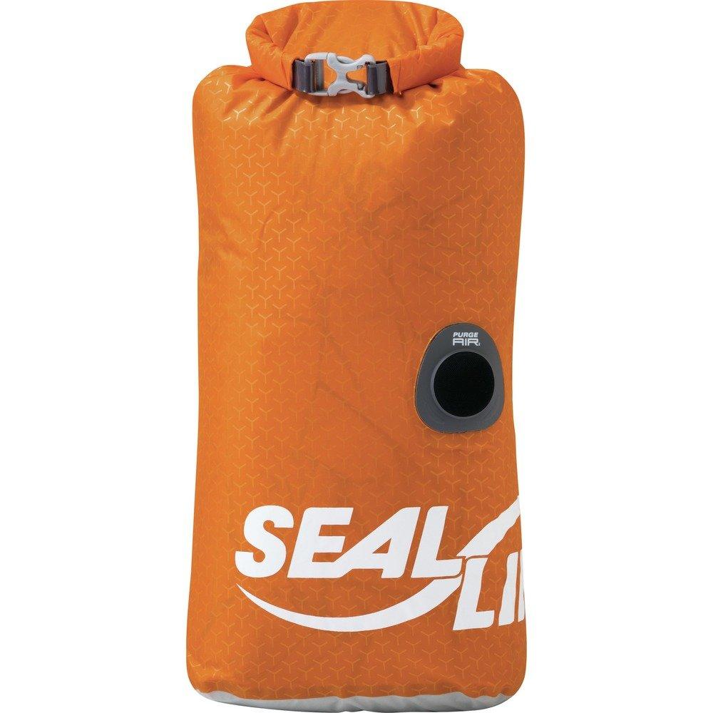 SealLine Blocker PurgeAir Dry Sack Waterproof Stuff Sack, Orange, 10-Liter by SealLine