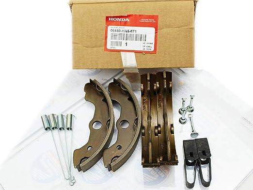Honda 1995 2007 Trx Brake Shoe Set 06450 Hn5 671 New Oem Auto