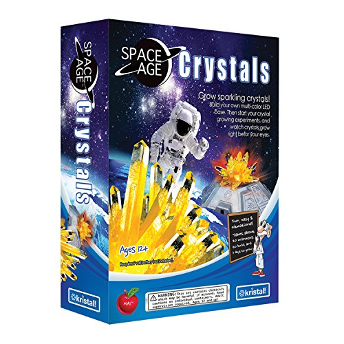 Space Age Crystal Growing Kit with LED Base (Citrine) (Space Education Kits)