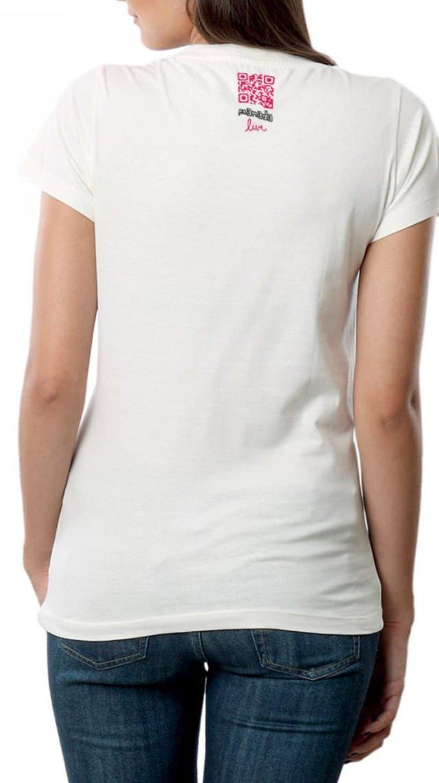 MANADA - Camiseta de Loro para mujer con Realidad Aumentada en 3D: Amazon.es: Ropa y accesorios