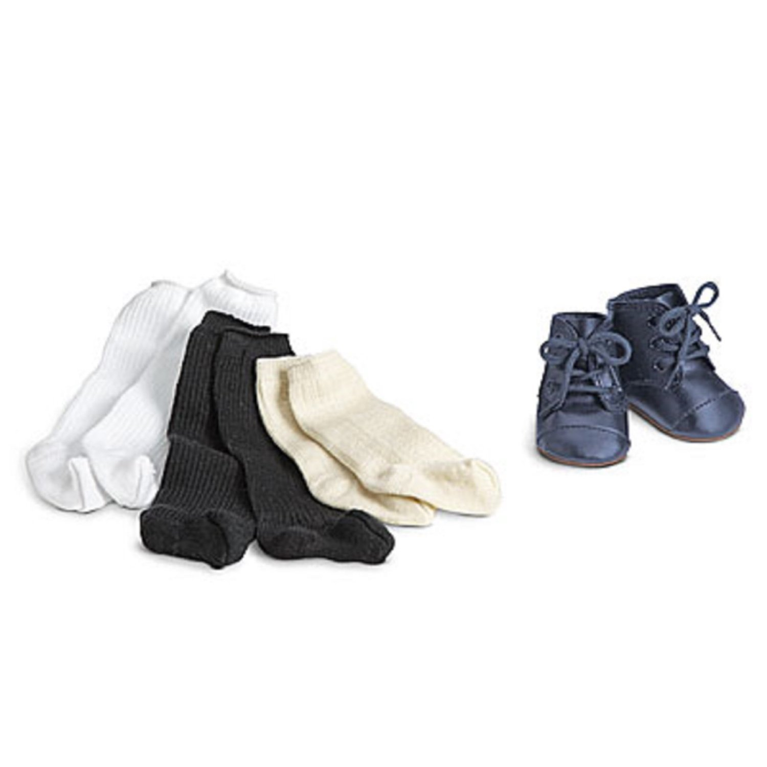 1b6dfcf7b6961 American Girl Addy's Shoes & Socks for Doll New with Box