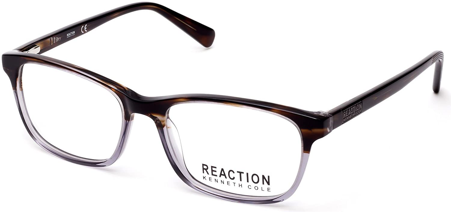 3cf8920bdde Eyeglasses Kenneth Cole Reaction KC 0798 020 grey/other at Amazon Men's  Clothing store:
