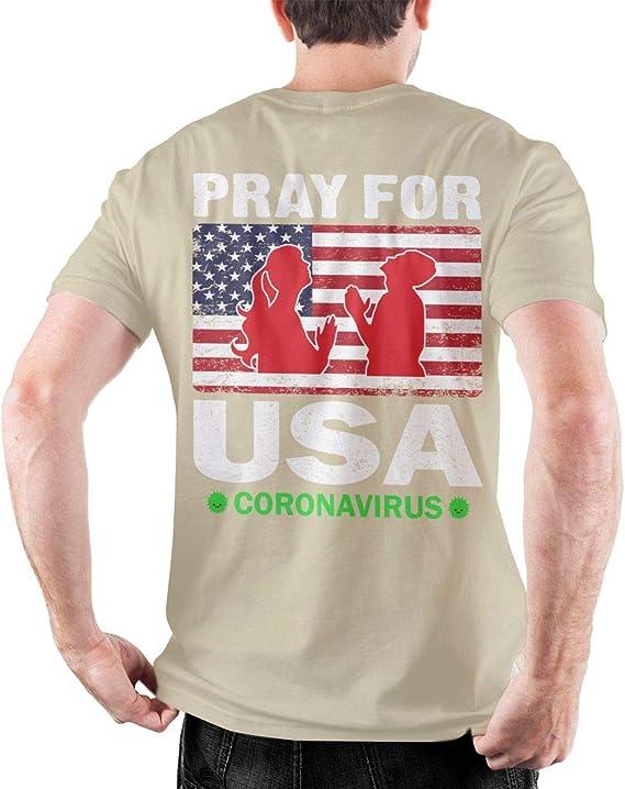 AllPrintInUSA Stop Coronavirus Mens Full Zip Up Hooded Sweatshirt Hoodie