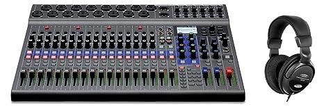 Zoom LiveTrak L-20 - Mesa de mezclas digital (potente mesa de ...