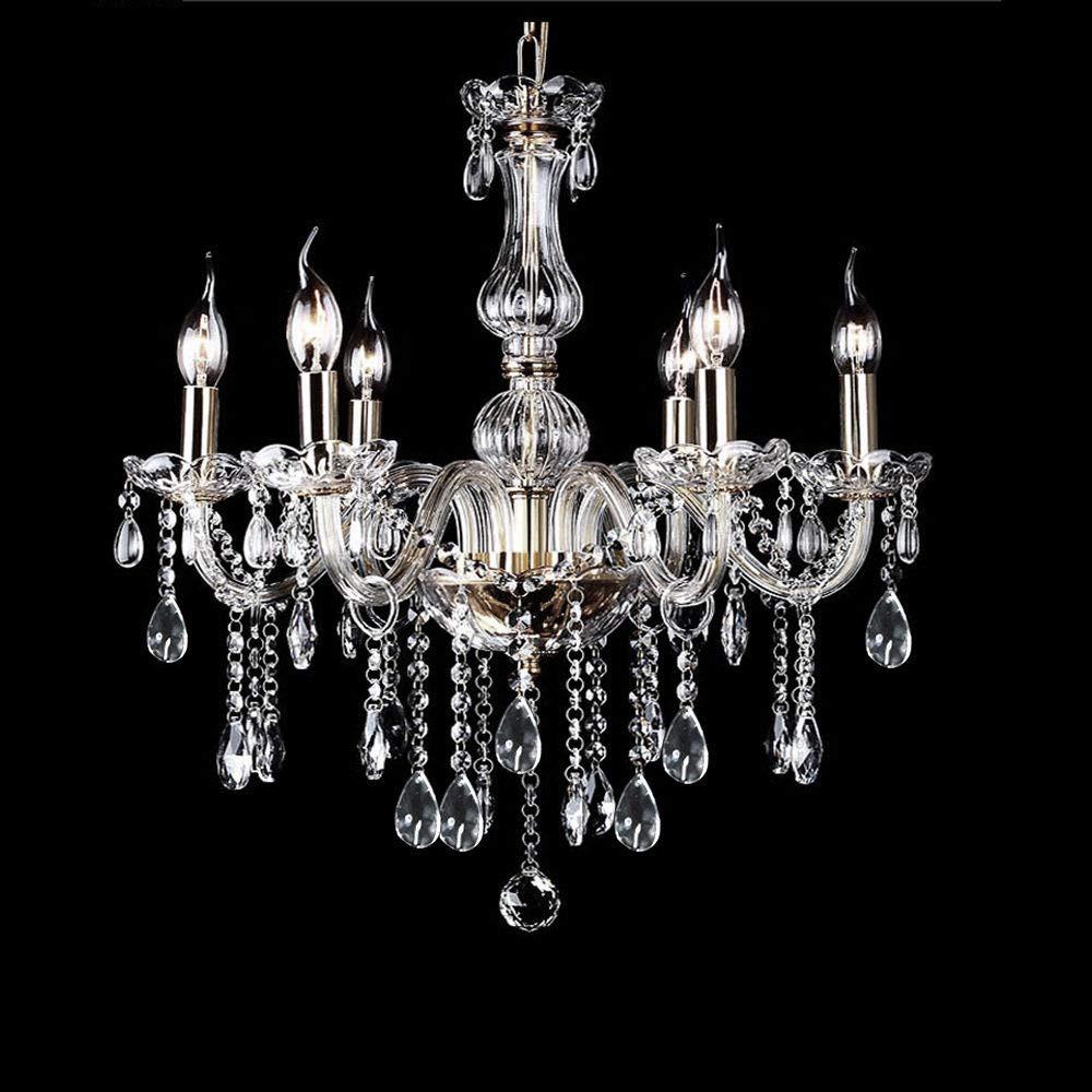 Chandelier Ceiling Lighting Lamp Pendant Hanging Fixture Modern Elegant Crystal