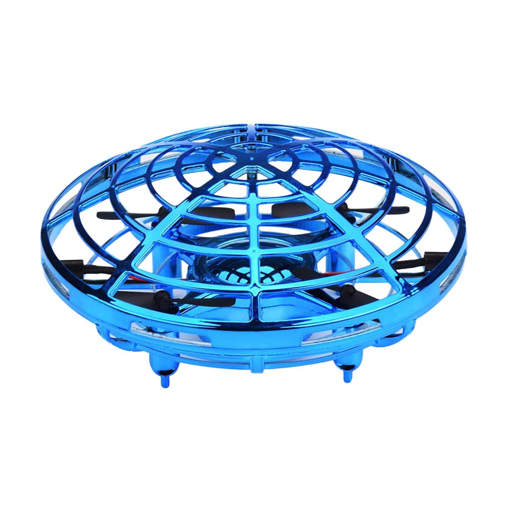 Almencla Flying Ball Toy Drones with LED, UFO Drone Flying Toys(Hand-Controlled ), Interactive Infrared Induction Helicopter with 360° Rotating - Kids Gifts