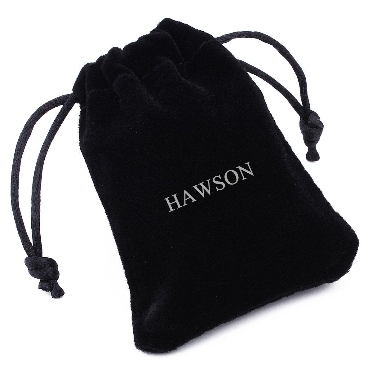 Conjunto de gemelos y botones con forma de calavera para personalizar camisas de hombre de HAWSON un divertido regalo para Halloween