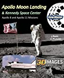Apollo Moon Missions & Kennedy Space Center - Classic Viewmaster - 3 Reels - 21 3D Pictures