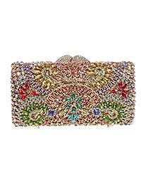 Fawziya Crystal Evening Bags For Womens Purses And Handbags For Weddings