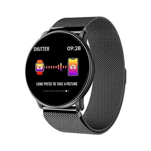 ZNSBH Smartwatch, 5ATM Impermeable Reloj Inteligente Hombre Mujer ...