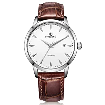 a9df0e507 Image Unavailable. Image not available for. Color: STARKING Top Brand  Luxury Automatic Mens Wrist Watch ...