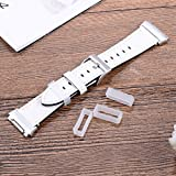 Adebena 6Pieces Rubber Watch Band Strap Loops