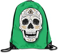 sac avec cordon serrage tête de mort 2