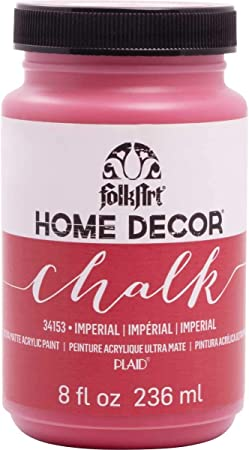 Amazon Com Folkart Home Decor Chalk Furniture Craft Paint In Assorted Colors 8 Ounce Imperial