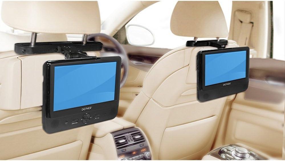 "Denver 11634020 portabler DVD-Player 22,9 cm 9 Zoll LCD Display, USB /""sehr gut"