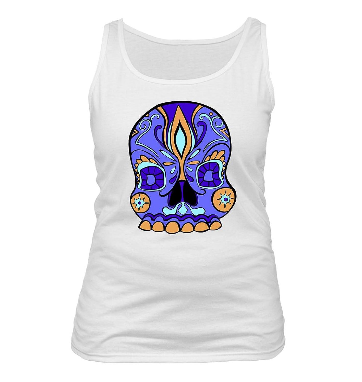 Purple DOD Skull #108 - Adult Women's Tank Top