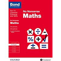 Bond: Maths: No Nonsense: 9-10 Years