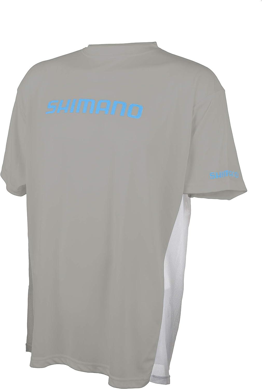 SHIMANO Short Sleeve Tech Tee Fishing Gear: Amazon.es: Ropa y ...
