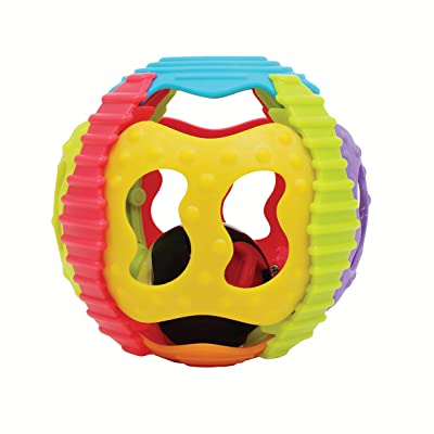 Playgro 4083681 Shake Rattle and Roll Ball for Baby : Baby