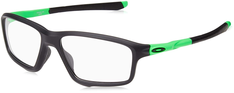 a8b461c2af179 Amazon.com  Oakley OO8076-05 Crosslink Zero Green Fade Collection - Olympic  Games, Black Green, 56mm, Eyewear Frames  Clothing
