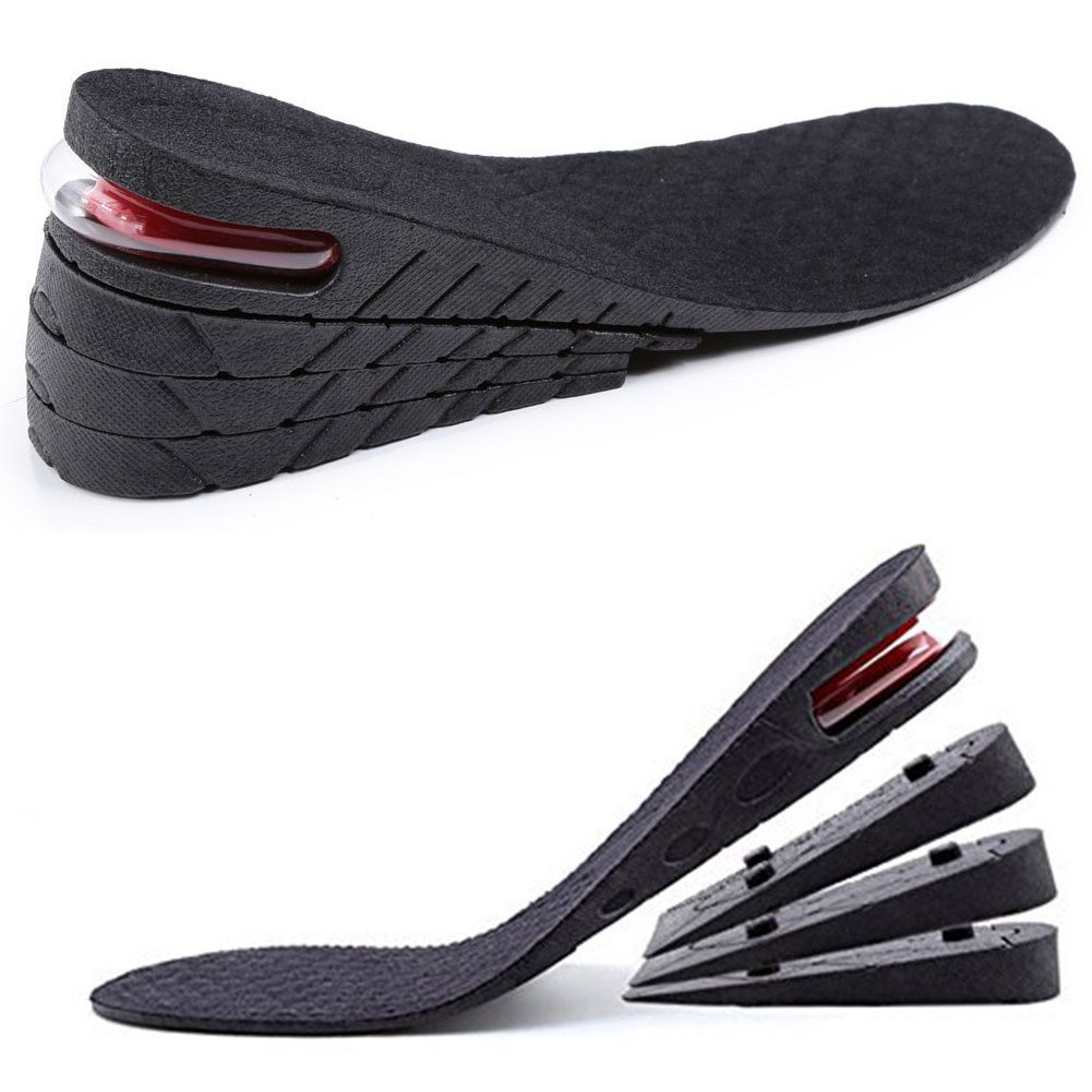 19f0670b3be16 Unique 4 Layer 8 cm (3.15 inch) Height Increase Insole Taller Shoes Pad for  Men and Women