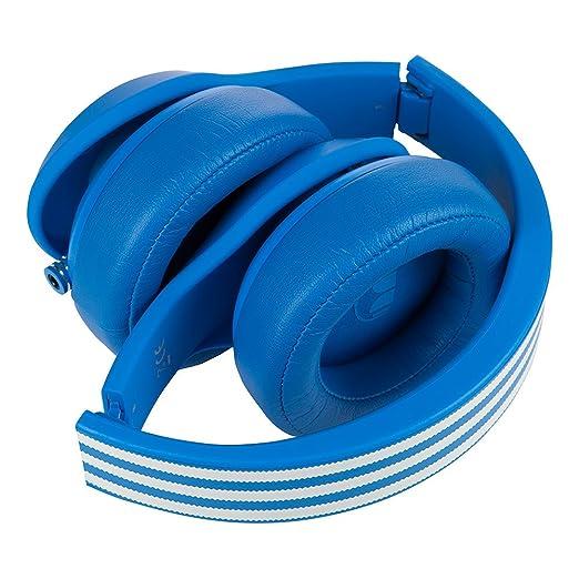 Monster Adidas - Auriculares de diadema cerrados, color azul: Amazon.es: Electrónica