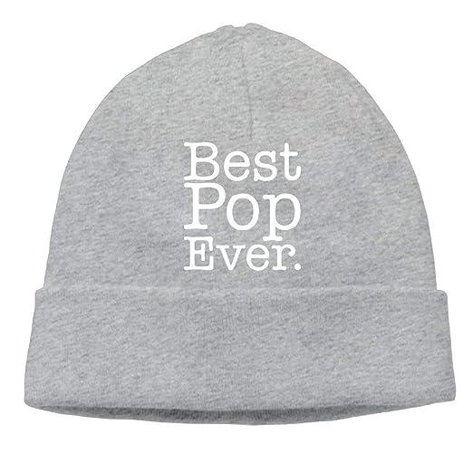 fe6cd0aa166 Skull Cap Knitted Hat Men Best Pop Ever Gift for Grandpa Soft Hip ...