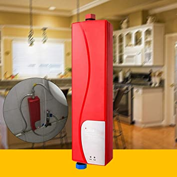 Calentador de agua instant/áneo sin dep/ósito para ba/ño Mini Electronic Instant 3 kW