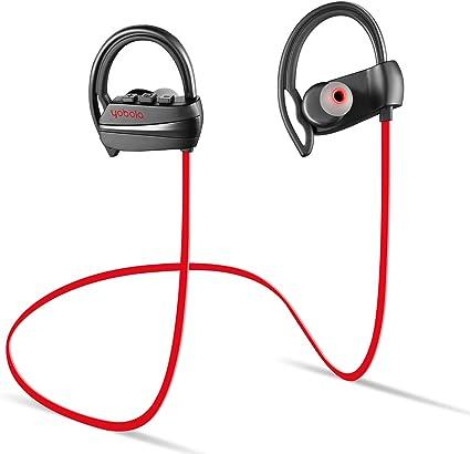 Yobola Ultra Longue Autonomie Ecouteurs Bluetooth 4.1 sans