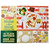 Melissa & Doug Sticker Pad - Make-a-Meal, 225+ Food Stickers