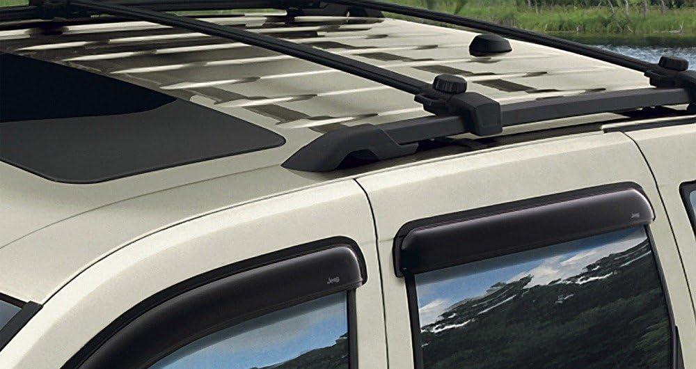 2007-2017 Jeep Patriot Production Style Cross Rails Bars Rack Black 82210804