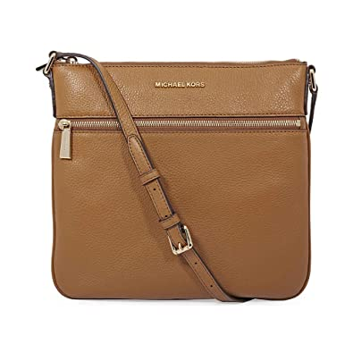 Michael Kors Bedford Flat Crossbody Bag- Acorn  Handbags  Amazon.com 135604af64064