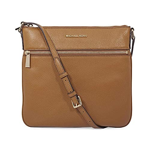 michael kors bedford flat crossbody bag acorn handbags amazon com rh amazon com