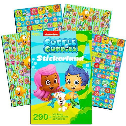Bubble Guppies Stickers ~ 290 Reward Stickers -