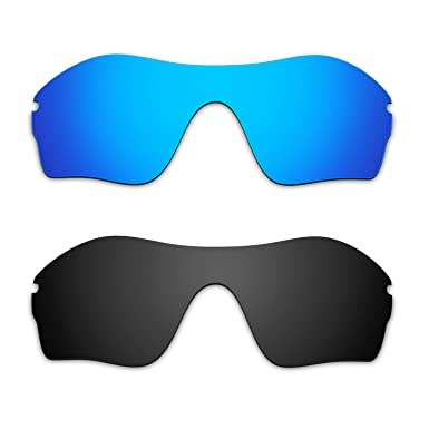 d5b939433f Hkuco Mens Replacement Lenses For Oakley Endure Edge Sunglasses Blue Black  Polarized