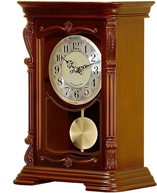 FCZH Relojes De Sobremesa De Madera, Reloj De Mesa De Escritorio ...