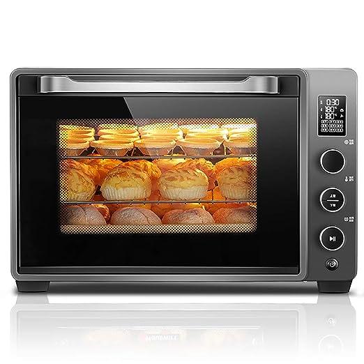 DIOE Mini horno tostador automático europeo multifunción para pan ...
