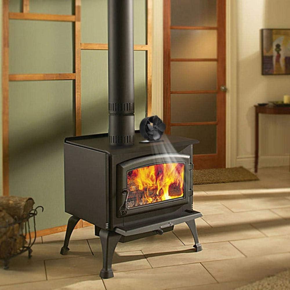 Ventilador sin humo para chimenea Estufas de leña Ventilador de ...
