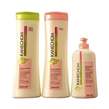 Kanechom Mixed Fruit Revitalizer Hair Leave-in Conditioner (10oz)+kanechom Conditioner (11.8oz)+...