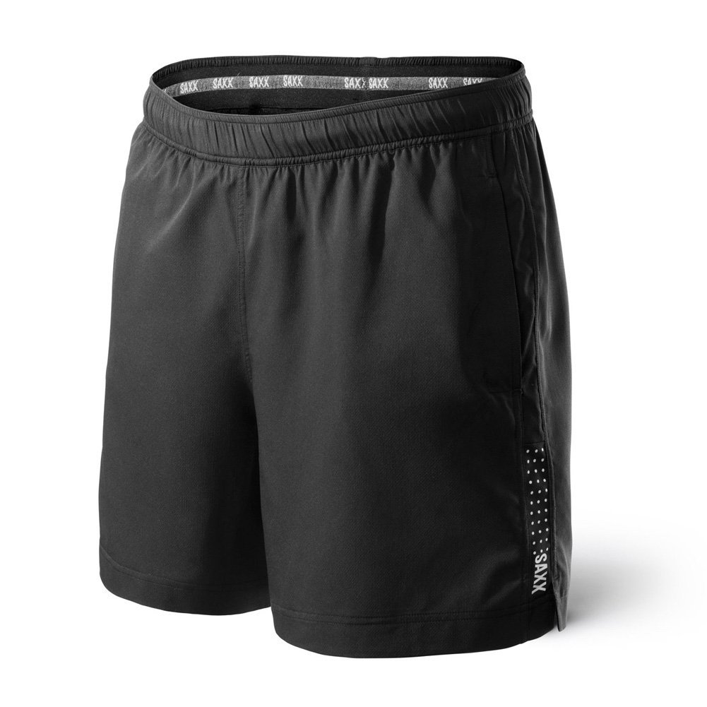 Saxx Kinetic Run Shorts Black L 2-PACK