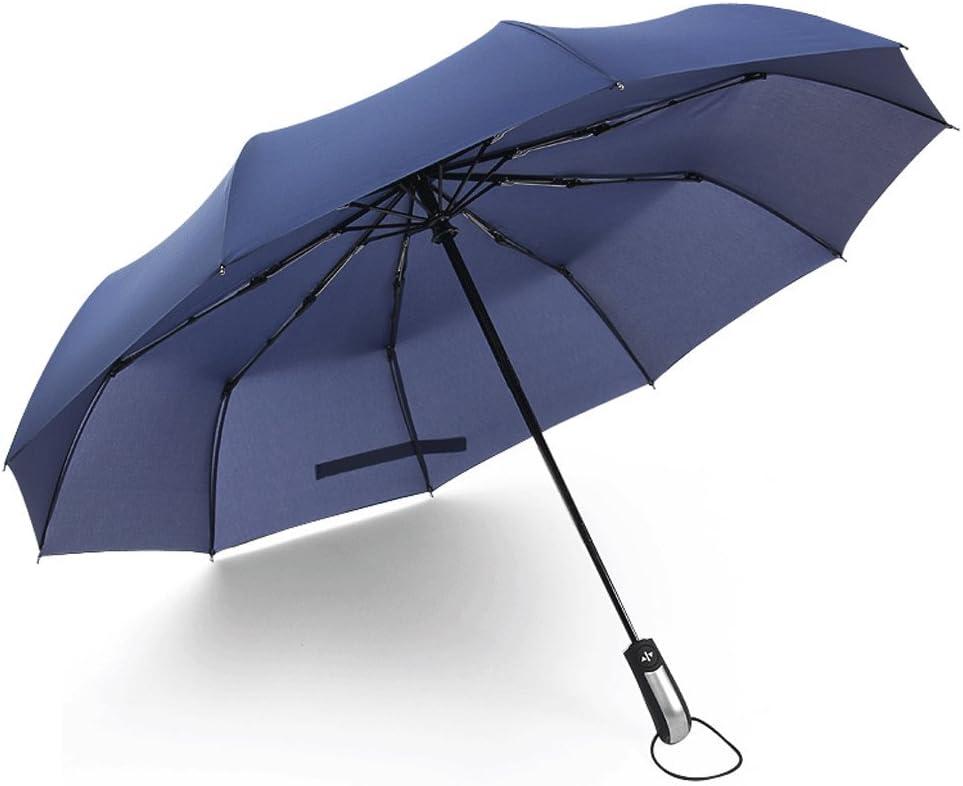 Color : D WMS Full Automatic Sun Umbrella UV Protection Umbrella Sunscreen Umbrella Two Use