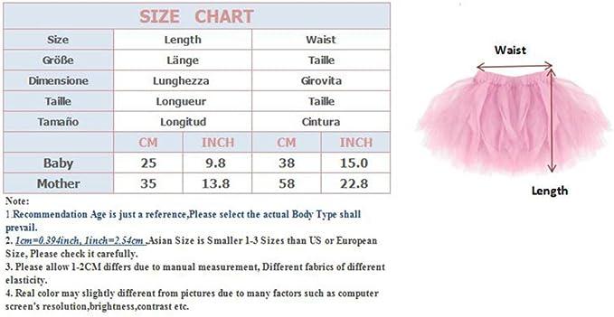 Dancina Falda Tut/ú Cl/ásica de Ballet para Beb/és y Ni/ñas de 0 a 24 Meses
