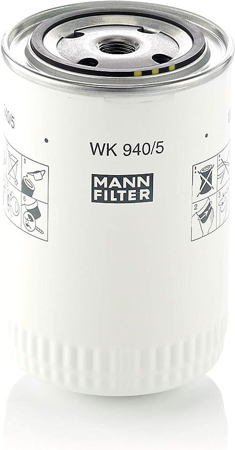 Original Mann Filter Kraftstofffilter Wk 940 5 Für Nutzfahrzeug Auto